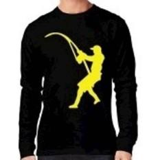 Tshirt Mancing-Distro-Kaos Lengan Panjang Mancing Mania