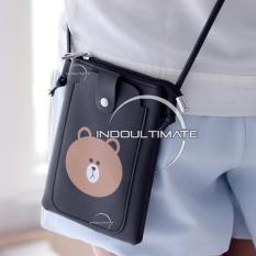 Ultimate Tas Kecil Wanita DY-403-2 - Black / Tas Anak Cewek / Cewe / Perempuan Mini Kecil  Slempang / Selempang Korea Import Batam Murah Cantik / Dompet Lucu Kulit Kecil Murah
