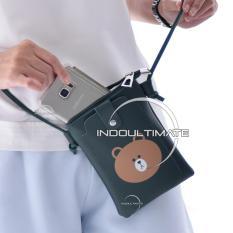 Ultimate Tas Kecil Wanita DY-403-2 - Green / Tas Anak Cewek / Cewe / Perempuan Mini Kecil  Slempang / Selempang Korea Import Batam Murah Cantik / Dompet Lucu Kulit Kecil Murah