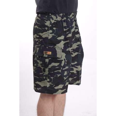 Valatex Celana cargo pendek army - Hijau muda