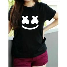 Vanessa Tumblr Tee / T-Shirt marsmellow / T-shirt Wanita / Kaos Cewek / Tumblr Tee Cewek / Kaos Wanita Murah / Baju Wanita Murah / Kaos Lengan Pendek / Kaos Oblong / Kaos Tulisan