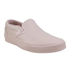 Vans UA Classic Slip-On D Shoes - Leather Whisper Pink/Mono