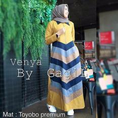 Baju Wanita Baju Gamis Baju Muslimah Venya Dress