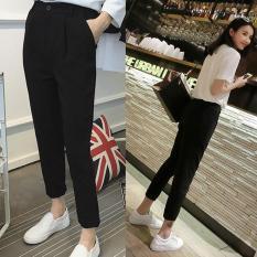 Korea Fashion Style es sutra musim semi dan musim panas baru celana panjang celana harem (Celana panjang) (Celana panjang) baju wanita celana wanita
