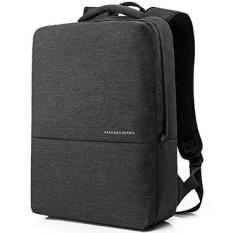 Vevesmundo 15.6 Inch Laptop Komputer Buku Catatan Perjalanan Sekolah College Ransel Ringan Anti-Air untuk DELL Ponsel Lenovo Macbook Acer Alienware untuk pria Women (Gelap Gray) -Internasional