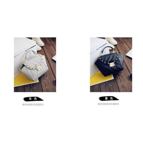 Vicria Tas Branded Wanita - High Quality PU Leather Korean Elegant Bag Style With Braid -