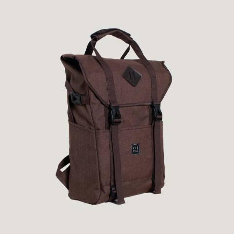Jual Visval Tas Ransel Laptop Backpack Zoom Brown 1743221 111507124 Harga terbaru