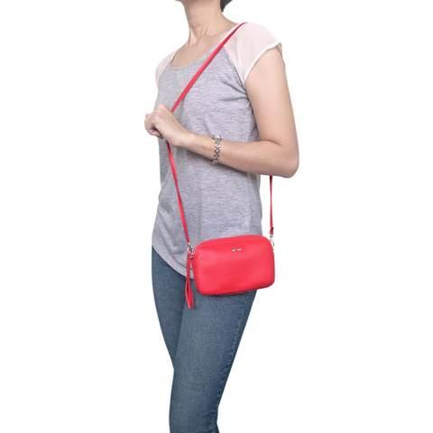 VONA Hopp Clutch (Merah) - Clutch Sling Bag Mini Tas Selempang Bahu Ladies PU