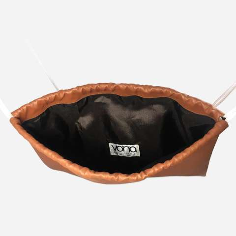 VONA Parker GRATIS FREE Ferris (Hitam) - Paket 2 in 1 Tas Ransel Wanita Best Seller Backpack Pria Kerja Punggung Serut Drawstring Sekolah Gym School Office Work Bag Korean Style Trendy Unisex New Arrival Fashion Kulit Sintetis PU Leather Buy 1 Get 1 5