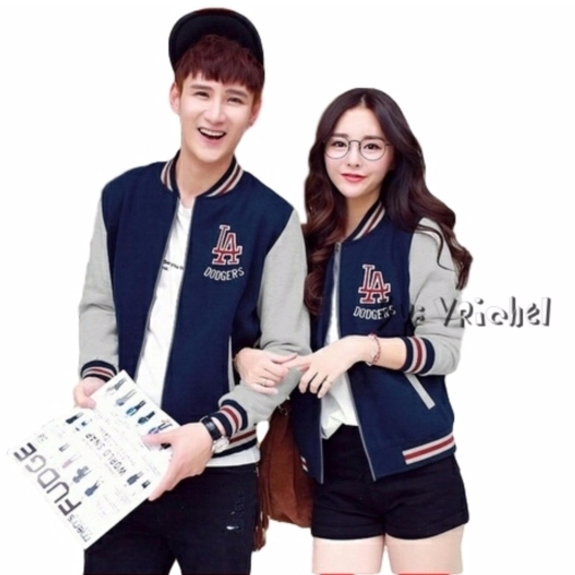 Vrichel Collection Jaket Couple / Jaket / Couple LA (Navy)