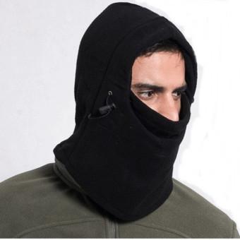 ... Promo Topi kupluk musim dingin yang hangat C pakaian olahraga pria syal kerudung