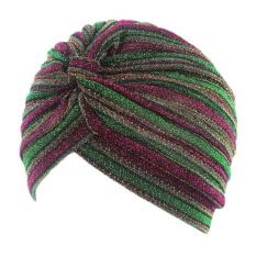 Women Cancer Chemo Hat Beanie Scarf Turban Head Wrap Cap GN - intl