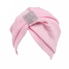 Women Cancer Chemo Hat Beanie Scarf Turban Head Wrap Cap PK - intl