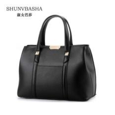 Wanita Top-handle Bag Elegan Bahu Tas PU Kulit Tas Wanita Messenger Tas Bolsas Feminina Jakarta 'S Info Fashion- INTL