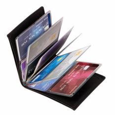 TOKO49 - Dompet Kartu Wonder Wallet Slim Paket Dompet TV Hitam