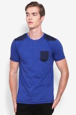 X8 Pakaian Atasan Kasual Kaos T-Shirt Pria Grayson T-Shirt Blue Diskon discount murah bazaar baju celana fashion brand branded