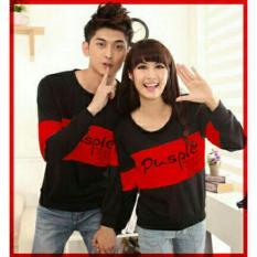 xavier couple T-shirt pusple hitam maroon Baju Couple  / Kaos Oblong / Kaos Pasangan / Kaos Couple / Pakaian Kembar / Baju Muslim Wanita / Baju Muslim Pria / Couple / Kaos Oblong / Cotton Combed Pasangan