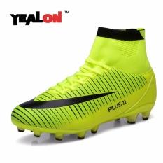 YEALON High Ankle Football Boots New FG Soccer Shoes Superfly Men Sock Boot Football Zapatos De Futbol Con Tobilleras Size39-46 - intl