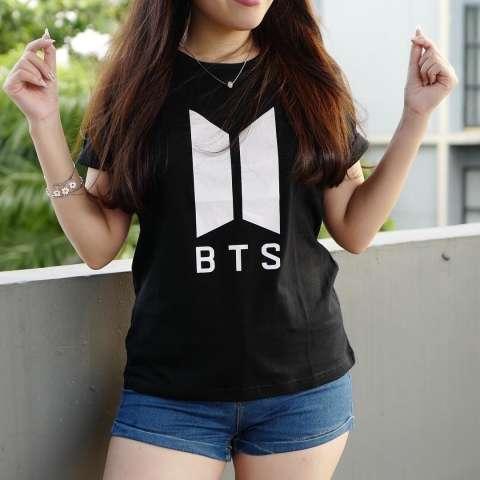 Harga Tumblr Tee T Shirt Bts Army Tumblr Tee Cewek Kaos Wanita Tshirt Cewe Cotton Combad