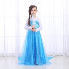 Yika Girls Disney Elsa Frozen dress costume Princess Anna party dresses cosplay