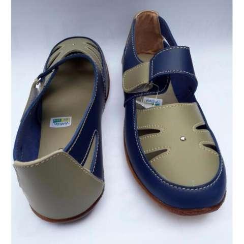 Yutaka Sepatu Wanita Slip On / Flat Shoes Biru