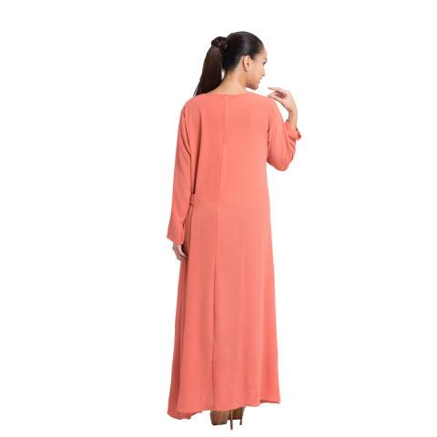 Zada Gamis Tie Maxi Dress - Salem 2