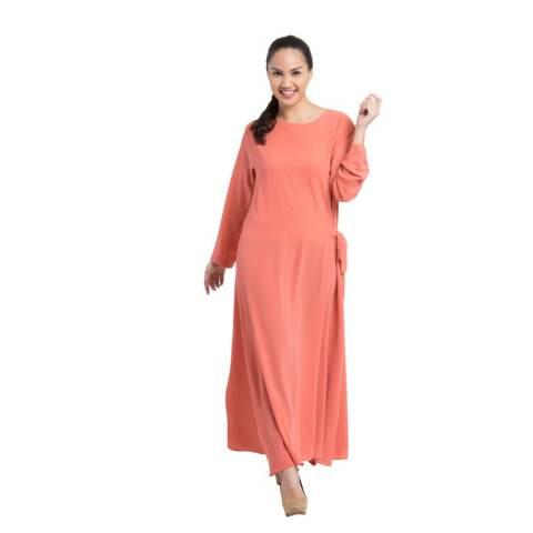 Zada Gamis Tie Maxi Dress - Salem 3