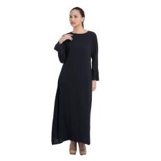 Zada Raya Gamis Maxi Dress - Hitam