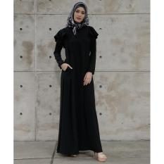 Zoya Dress Muslimah - Arisha Dress Black