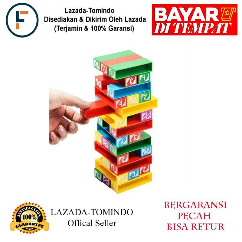 Tomindo Mainan Uno Stacko (GRATIS ONGKIR + GARANSI)   mainan anak   mainan  susun d4a91971d2