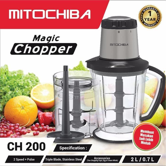 ... Blender Daging dan Bumbu Food Chopper Mitochiba CH 200