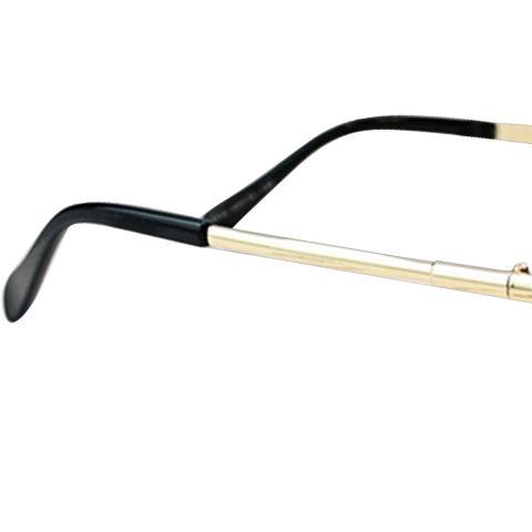 1 Pasang Adapula Nak Anak Retro Putaran Lingkaran Cermin Lensa Kacamata  Hitam Logam Warna Bingkai Kacamata 38525c444c