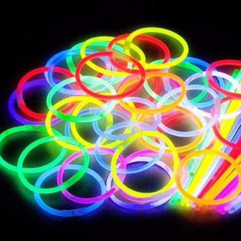 ... Pcs Source Light Gelang Menyala Isi 15 Source 100pcs Multi Color Glow Stick Gelang Fosfor Pesta