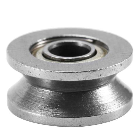 10pcs V624ZZ V Groove Ball Bearing Pulley For Rail Track Linear Motion System 4*13