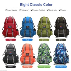 50L Tas Ransel Hiking Camping Travel Tahan Air Pack Mountain 222625642545-Intl