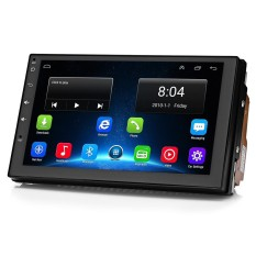 7175M Universal 7-inch Car Multimedia Player Android 6.0 GPS / Rear View / Steering Wheel Control / Bluetooth / Wi-Fi / 4G