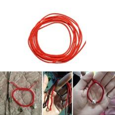 AC 0.8mm Nylon-Cord Thread Chinese Knot Macrame Rattail Bracelet Braided String 45M - intl