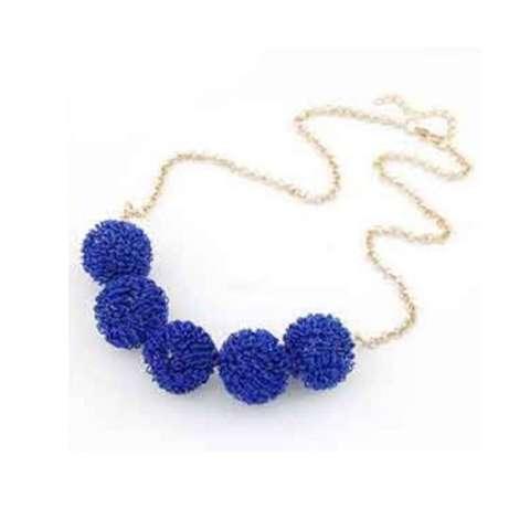 Aksesoris Kalung Candy Color Ball - RKL1071W