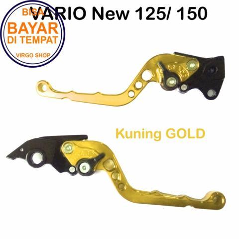 Aksesoris Vario Handle REM Variasi Motor FULL CNC Vario 150 - Gold