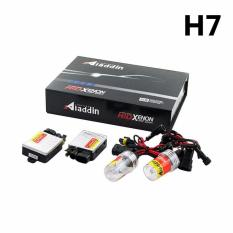 Aladdin Lampu Hid Xenon Mobil ZZ-AD-H7 Universal Luminous 8000k - Putih Kebiruan