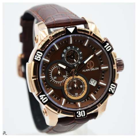 Jam Tangan Fashion Pria Casual D Force Leather Strap Jam Tangan ... 84cac9229f