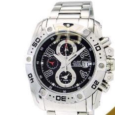 Alba Man AF3E75X1 Quartz  Chronograph Alarm Black Dial - Jam Pria AF3E75