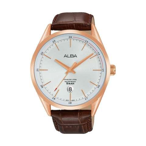 Alba Prestige Men Watch - Jam Tangan Pria - Stainless Steel Strap - ASD36X1