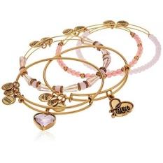 Alex dan Ani Hidup dengan Cinta Pink dan Emas Bangle Gelang-Intl
