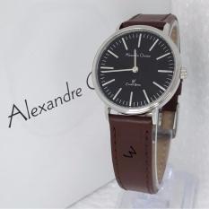 Alexandre Christie - Jam Tangan Casual Wanita Murah -  Leather Strap - AC8456