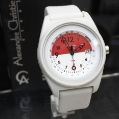 Alexandre Cristie Original Jam Tangan Fashion Kasual Pria-Wanita 6 pilihan warna terbaru