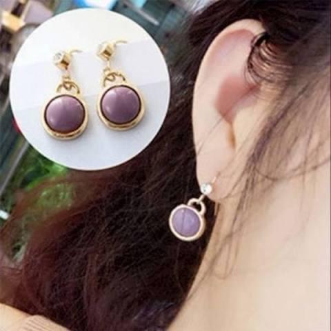 [PROMO] Anting Tusuk Gantung Lapis Emas Perhiasan Imitasi Jewelry LYS26