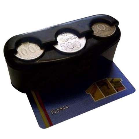 Lanjarjaya Tempat Koin Kartu Mobil Coin Card Car Holder Gantungan Source · Auto Change Coin Case