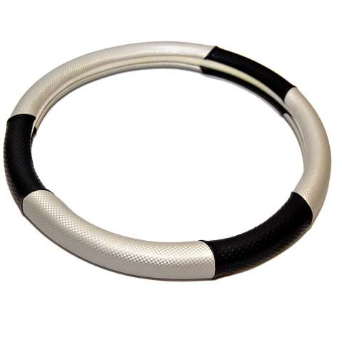 AUTORACE Cover Stir / Sarung Stir Mobil Autorace 102 - Silver