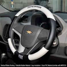 AUTORACE Cover Stir / Sarung / Aksesoris Pelindung Setir Mobil Universal Awet Kuat 104 Tranformrs - Putih